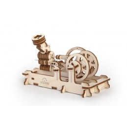 Engine pneumatic Puzzle 3D wood UGEARS