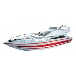 Atlantic Boat Rouge 2.4Ghz RTR Siva