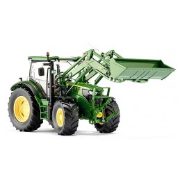 Tractor John Deere with loader 1/32 Wiking h340′s 6125R