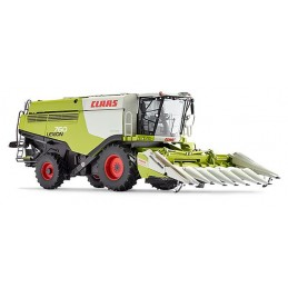 Combine CLAAS Lexion 760 with cutting corn 1/32 Wiking