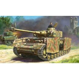 Char Panzer IV Ausf.H 1/35 Zvezda