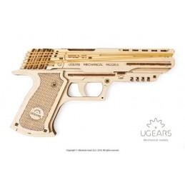 Gun Wolf-01 3D wood UGEARS