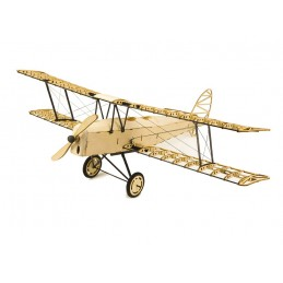 Tiger Moth 1/18 laser cutting wood, static model DW Hobby