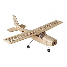 Cessna 150 1000 mm S16 balsa DW Hobby Kit