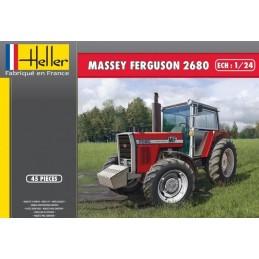 Tractor Massey - Ferguson 2680 1/24 Heller + glues and paints