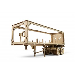 VM-03 truck trailer Puzzle 3D wood UGEARS
