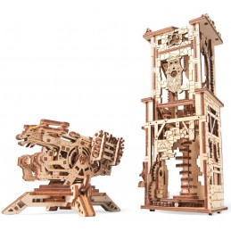 Tour to crossbow Puzzle 3D wood UGEARS