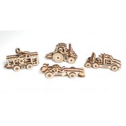 U Fidget vehicles Puzzle 3D wood UGEARS