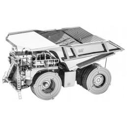 Tombereau, camion minier Caterpillar Metal Earth