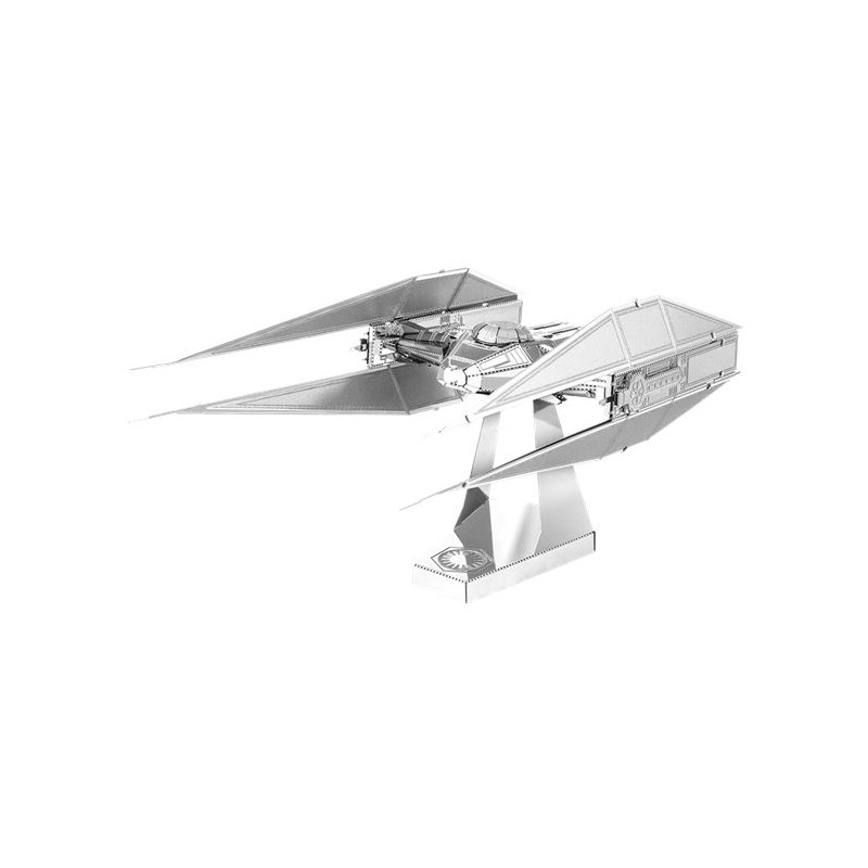 Kylo Ren's Tie Silencer Star Wars Metal Earth