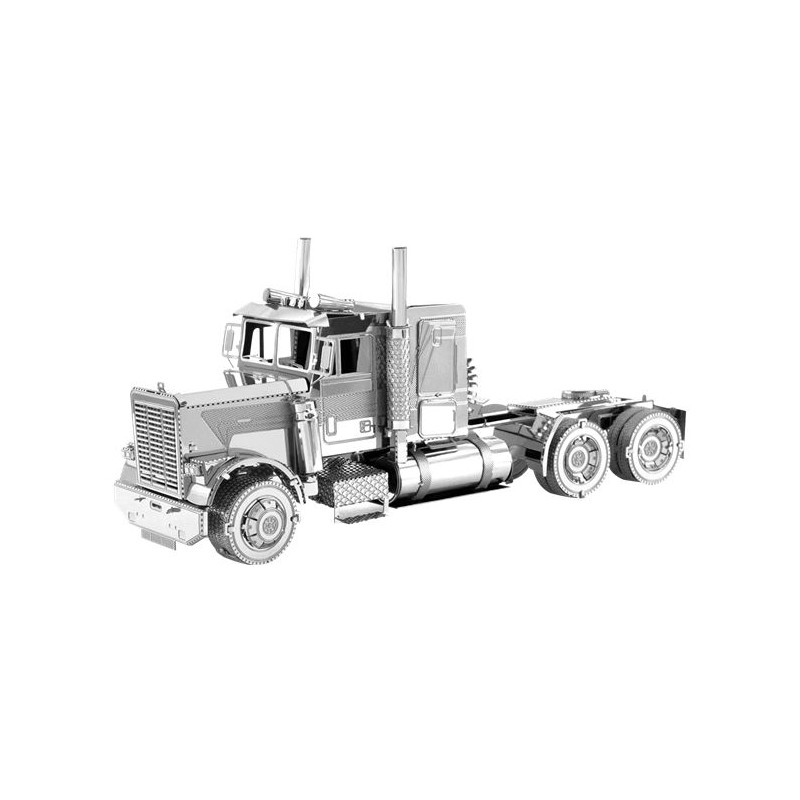 camion routier am ricain nez long metal earth mms144. Black Bedroom Furniture Sets. Home Design Ideas
