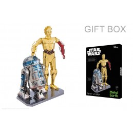 R2 - D2 and C - 3PO Star Wars Metal Earth box