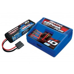 Chargeur rapide 40W 2970G + Lipo 2S 5800mAh 2843X Traxxas