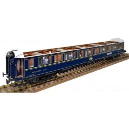 Voiture voyageur CIWL Orient Express 1/32 construction bois Amati