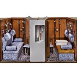 CIWL Voiture voyageur Orient Express 1/32 construction bois Amati