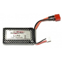Batterie Li-Po 7.4V 1600mAh (Dean) MT-Twin Funtek