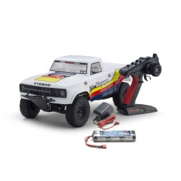 Outlaw Rampage Truck Blanc 2WD 1/10 RTR Kyosho