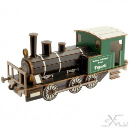 Locomotive steam Tigerli E 3/3 3D-Model Siva