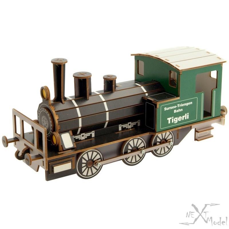 Locomotive à vapeur Tigerli E 3/3 3D-Model Siva
