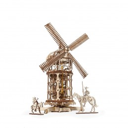 Monlin à vent Puzzle 3D bois UGEARS
