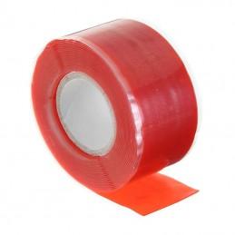 Bande ruban Silicone étanche rouge