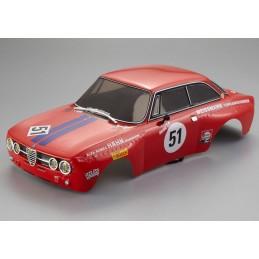 Carrosserie Alfa Romeo 2000 GTAm rouge 1/10 190mm Killerbody