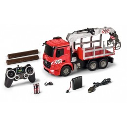 Truck Mercedes Arocs tipper and crane 1/20 RTR Carson
