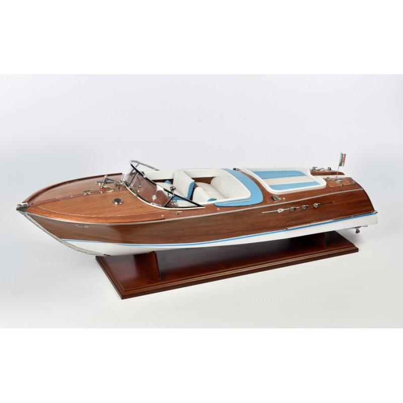 Italian Runabout Riva 1/10 bateau en bois Amati