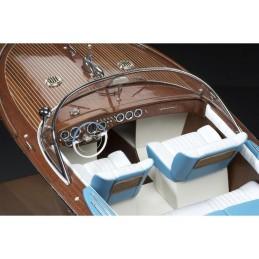 Italian Runabout Riva 1/10 Amati wooden boat