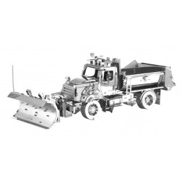 Camion benne avec lame chasse-neige Metal Earth