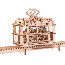 Tram sur rails Puzzle 3D bois UGEARS