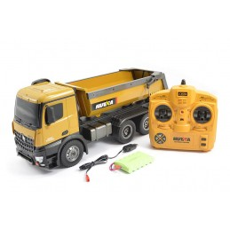 Camion benne RC 10ch 1/14 2.4Ghz - HuiNa
