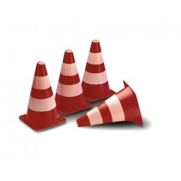 Cônes de signalisation travaux ou piste 1/10 Carson  (x4)