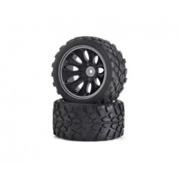 Wheels monster truck CV - 10 black T 1/10 (2) Carson