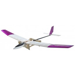 Glider NPS 1 m 56 removable pylon ARF R2 Hobby - TheBuildRC