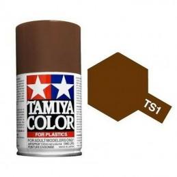 Paint bomb red matte Brown TS1 Tamiya
