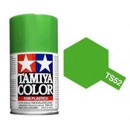 Peinture bombe Vert Candy brillant TS52 Tamiya