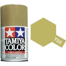Paint bomb Matt dark yellow Tamiya TS3