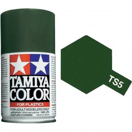 Peinture bombe Olive Drab mat TS5 Tamiya