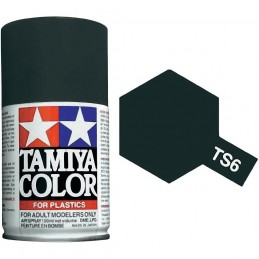 Peinture bombe Noir mat TS6 Tamiya