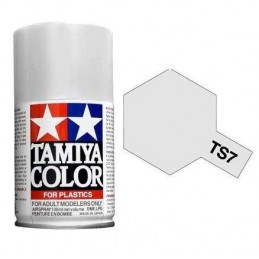 Paint bomb white brilliant Racing TS7 Tamiya