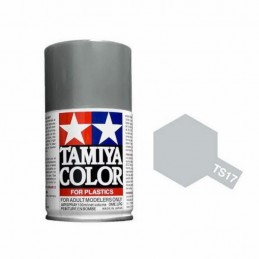 Paint bomb bright aluminum TS17 Tamiya