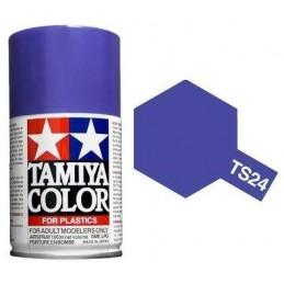Peinture bombe Violet brillant TS24 Tamiya