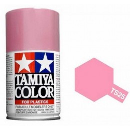 Peinture bombe Rose brillant TS25 Tamiya