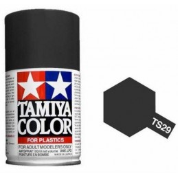 Paint bomb black satin TS29 Tamiya