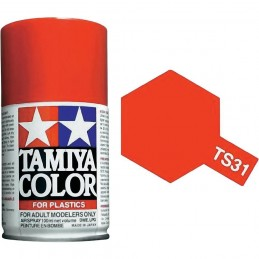 Peinture bombe Orange brillant TS31 Tamiya