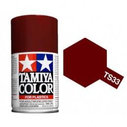 Peinture bombe Rouge Terne mat TS33 Tamiya