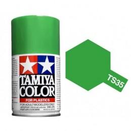 Peinture bombe Vert Pré brillant TS35 Tamiya