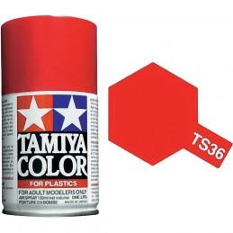 Peinture bombe Rouge Fluo brillant TS36 Tamiya