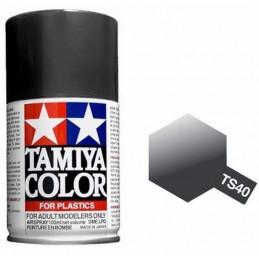 Paint bomb black shiny Metal TS40 Tamiya